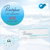 ▫️Esthetic Dermal Supply presents Restylane® Lyft lidocaine in promotion ! 60€ at estheticdermalsupply.com  Restylane® Lyft Lidocaineis a hyaluronic acid-based filler suitable for injection into the deep dermis to superficial subcutis.   Use the product to correct moderate to severe facial folds and wrinkles such as nose-to-mouth lines, frown lines, chin and cheeks. Contains lidocaine, a powerful anaesthetic, for amore comfortable injection.  Buy other Restylane products at estheticdermalsupply.com  #estheticdermalsupply #eds #aesthetic #dermalsupplies #acideyaluronique #hyaluronicacid #cliniqueesthetique #aestheticclinic #fillerinjections #dermalfillers #beauty #skincare #antiaging #plumping #skin #beauty #aesthetictreatment #aestheticmedicine #plasticsurgeon #aestheticsurgeon #restylane #restylanelyft #restylanelyftlidocaine