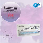 ▫️Esthetic Dermal Supply presents Hydralix® Gentle lidocaine in promotion ! 95€ at estheticdermalsupply.com   Luminera Hydryalix Gentle Lidocaine is an injectable, sterile, apyrogenic gel intended for soft tissue augmentation. It is composed of cross-linked hyaluronic acid from a non-animal source. The gel is latex-free, viscoelastic, clear, transparent and bio-degradable.Hydryalix Gentle Lidocaine is intended for injection into the superficial and mid-dermis to correct superficial lines, fine to moderate wrinkles and minor skin damage. This product can also be used on wrinkles, lines and creases around the mouth. Hydryalix is also designed for injection into the eyelids and the bags under the eyes. Contains lidocaine, a powerful anaesthetic, for a more comfortable injection.  Buy other Hydralix products at estheticdermalsupply.com  #estheticdermalsupply #eds #aesthetic #dermalsupplies #acideyaluronique #hyaluronicacid #cliniqueesthetique #aestheticclinic #fillerinjections #dermalfillers #beauty #skincare #antiaging #plumping #skin #beauty #aesthetictreatment #aestheticmedicine #plasticsurgeon #aestheticsurgeon #luminera #hydralix #hydralixgentle #luminerahydralix