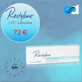 ▫️Esthetic Dermal Supply presents Restylane® Lyft lidocaine ! 72 € at estheticdermalsupply.com  Restylane® Lyft Lidocaineis a hyaluronic acid-based filler suitable for injection into the deep dermis to superficial subcutis.   Use the product to correct moderate to severe facial folds and wrinkles such as nose-to-mouth lines, frown lines, chin and cheeks. Contains lidocaine, a powerful anaesthetic, for amore comfortable injection.  Buy other Restylane products at estheticdermalsupply.com  #estheticdermalsupply #eds #aesthetic #dermalsupplies #acideyaluronique #hyaluronicacid #cliniqueesthetique #aestheticclinic #fillerinjections #dermalfillers #beauty #skincare #antiaging #plumping #skin #beauty #aesthetictreatment #aestheticmedicine #plasticsurgeon #aestheticsurgeon #restylane #restylanelyft #restylanelyftlidocaine